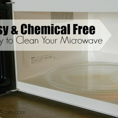 How to Easily Clean Your Microwave With No Chemicals